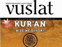 Vuslat Dergisinin Kasım 2012 Sayısı Çıktı