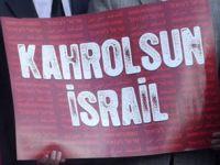 Trabzon'da Katil İsrail Protesto Edildi!