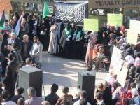 İsrail Terörü Diyarbakır'da Lanetlendi