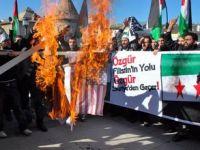 Erzurum'dan İsrail ve Esed'e Lanet (FOTO)