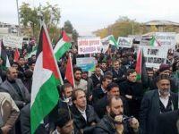 Muş'ta Gazze Katliamını Protesto Eylemi