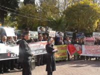 Akhisarda Filistin ve Suriyeye Destek Eylemi