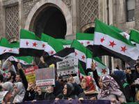 Üniversiteli Öğrencilerden Suriyeli Halkına Destek