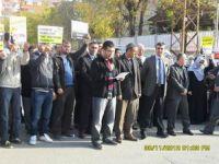 MEBin Yasakçı Genelgesine Batman'da Protesto