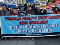 Yasakçı Genelge Trabzon'da Protesto Edildi
