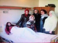 Filistin ve Suriyeli Yaralılara Ziyaret