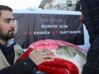 Sadakataşı, Lübnanda Yardım Dağıttı