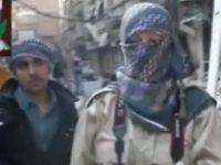 Özgür Suriye Ordusu Saflarında Bir Rus Kadın (VİDEO)