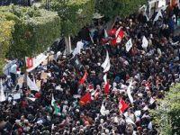 Tunuslu Müslümanlardan Milyonluk Gösteri (VİDEO)