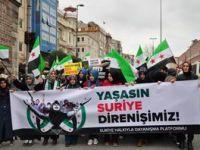 İstanbul'da Binler Suriye Cihadını Selamladı! (Foto-Video)