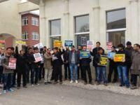 Bayburtlu Müslüman Öğrencilerden Suriye Eylemi