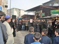 Ağrıda Suriye İntifadasına Destek Eylemi