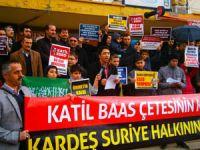 Isparta Suriye Direnişini Selamladı