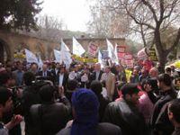 Şanlı Urfada Suriyeye Destek Eylemi Yapıldı