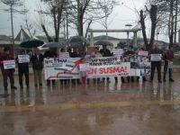 Akyazı'da Suriye Direnişine Destek Eylemi