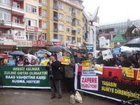 Kocaeli'de Suriye Direnişine Destek Eylemi