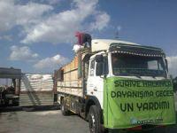 Özgür-Derden Suriyeye 60 Ton Un Yardımı