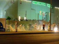 el-Berak'a Destek Gösterisinde Olaylar Çıktı