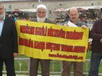 Andican Katliamı Taksimde Protesto Edildi