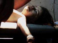 Suriyeli Çocukların Nasibine Yine Bomba Düştü (VİDEO)