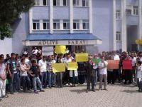 Bingöl'de Mahkemeye Tecavüz Protestosu