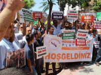 Adanada Mursiye Destek Basın Açıklaması