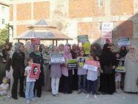 Ispartada Müslüman Kardeşlere Destek Eylemi