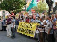 Mısır'daki Katliam Antalya'da Protesto Edildi