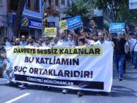 Mısır Direnişine İstanbul'dan Bin Selam (FOTO-VİDEO)