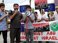 ABD Elçiliği Önünde Mursi'ye Destek Eylemi