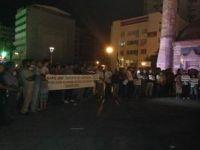 İzmirden Mısırdaki Katliama Protesto
