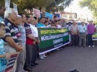 Akhisardan Mısırdaki Katliama Protesto