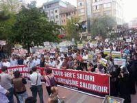 Van Özgür-Der'e Yapılan Saldırı Protesto Edildi