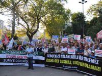 Özgür-Der'e Yapılan Saldırılar Fatih'te Protesto Edildi