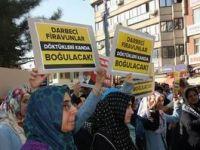Mısır'daki Katliam Bingöl'de Protesto Edildi