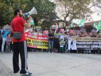 Bursada Mısır Katliamı Protesto Edildi
