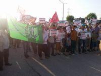 Adana'da Mısır'daki Katliam Protesto Edildi