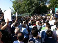 Katil Mısır Ordusu Ankarada Protesto Edildi