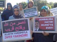 Akhisarda Mısırdaki Katliama Protesto