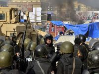 Muğlada Mısır Ordusu Protesto Edildi
