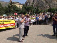 Mısır'daki Katliam Amasya'da Protesto Edildi