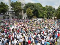 Mısır Katliamı Eyüpte Protesto Edildi (FOTO)