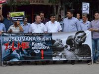 Mısır'daki Katliama Osmancık'tan Protesto!