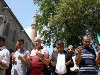 Bursada Mısır Şehitleri İçin Cenaze Namazı