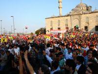 Eminönünde Mısır Cuntasına Lanet Eylemi (FOTO)