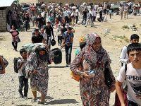 Esed Güçleri Bombalıyor Kürtler Kaçıyor