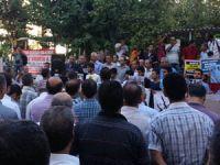 Batmanda Suriyede Protestosu