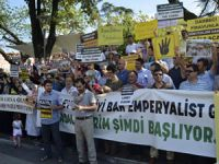 Trabzonda Esed ve İran Protestosu