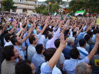 Bursada Suriye ve Mısır Eylemi Yapıldı