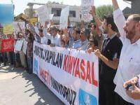 Diyarbakırda Suriye Katliamı Kınandı